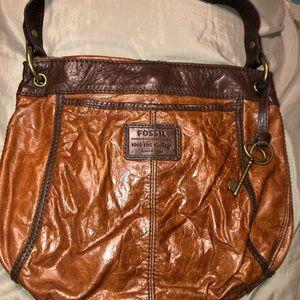 Brown fossil bag